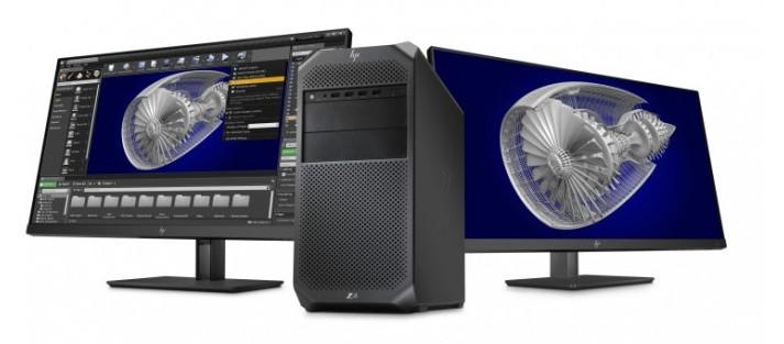 惠普全新Z4工作站配备了高达18核心的Core i9处理器