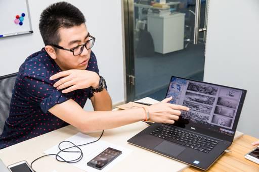设计师于斌与他的DELL Precision 5510移动工作站