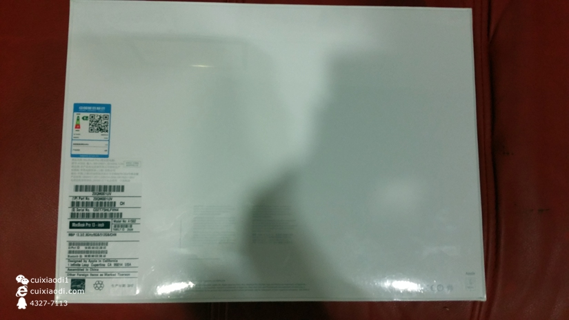 Macbook pro 2016 840特配版展示