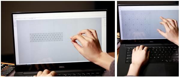 设计师辛瑶遥与她的DELL Precision 5520移动工作站