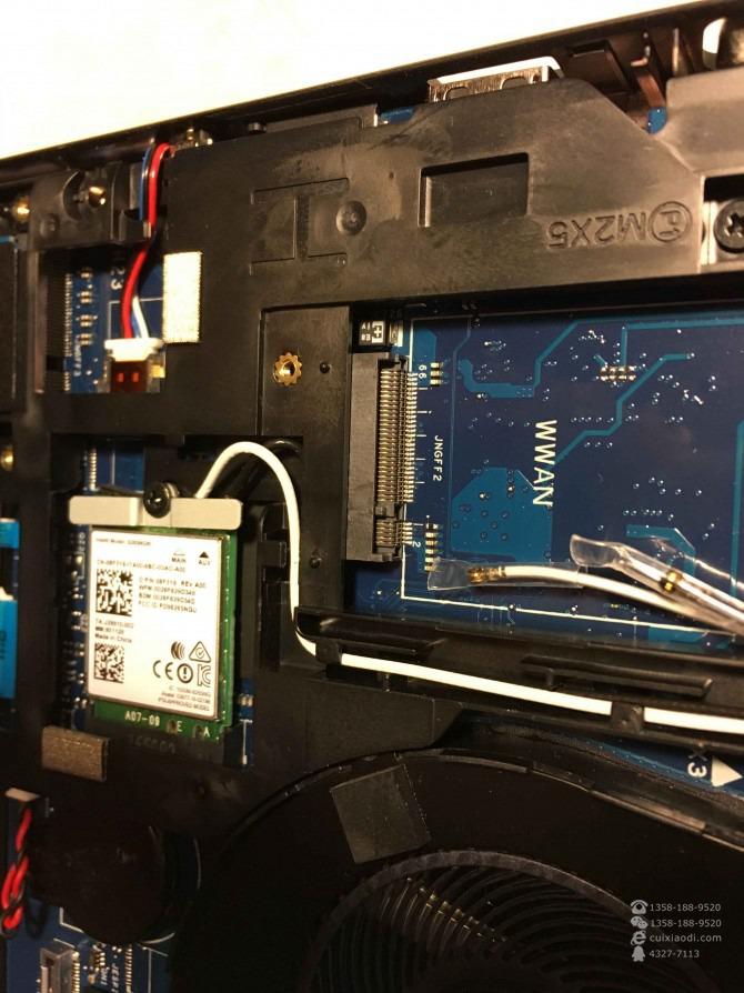DELL Precision 3520移动工作站拆机图