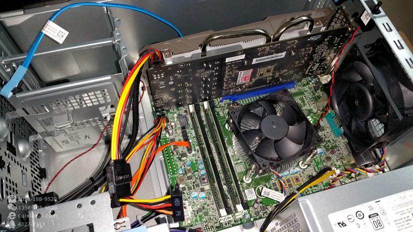 DELL Precision T3620 加 GTX1060显卡