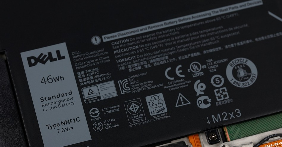 Dell XPS 13 2in1 2017 拆解图