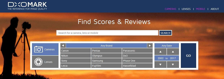 推荐一个手机摄像功能评测网站-DXOMARK
