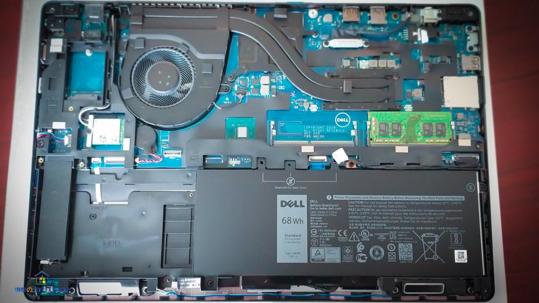 戴尔Precision3530移动工作站更换硬盘指南