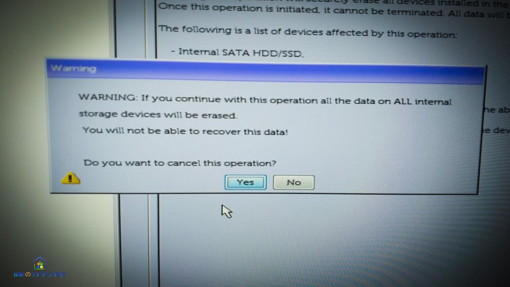 戴尔Precision工作站擦除硬盘功能测试